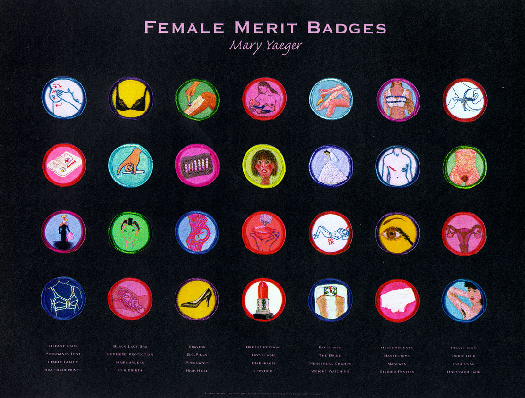 Merit Badge Poster